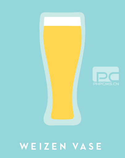 小麦啤酒杯