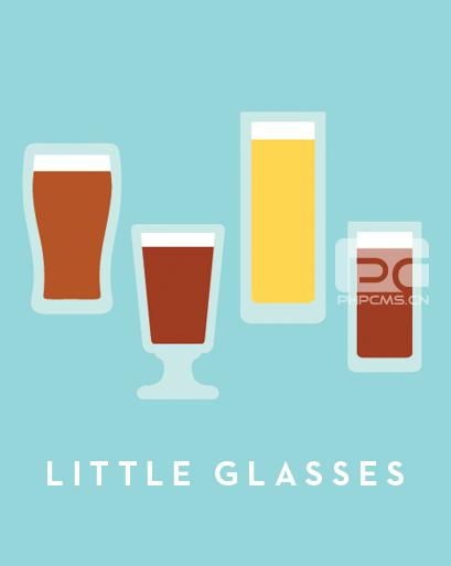 小型啤酒杯