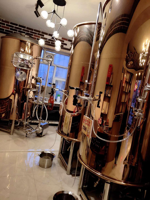 现代啤酒设备糖化室使用的物料加热方式有哪些