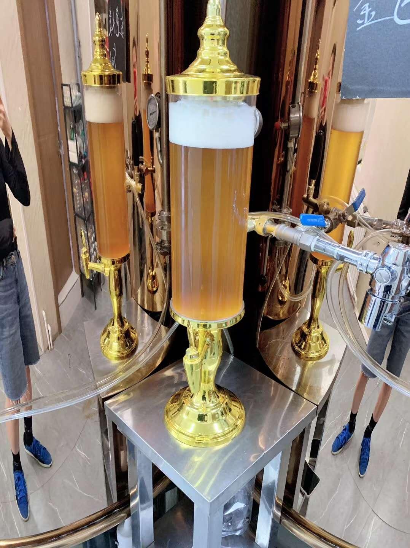 从啤酒生产机器来说酿造啤酒过程中的几个技术问题
