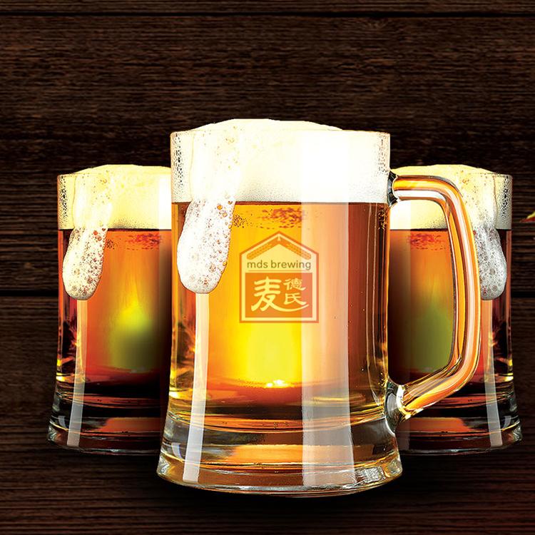 扎啤,生啤,熟啤的区别|麦德氏啤酒设备