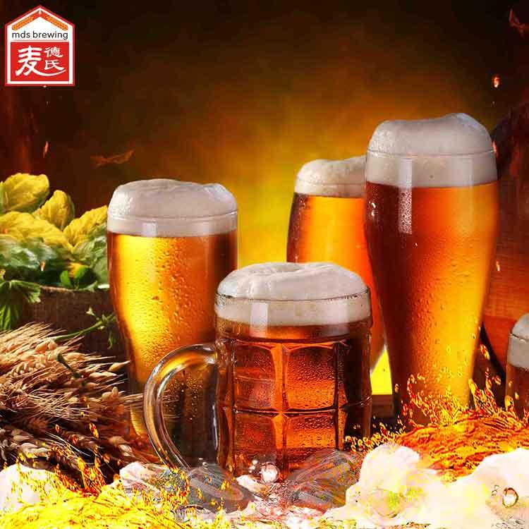 精酿啤酒设备说自酿啤酒的酿造技术