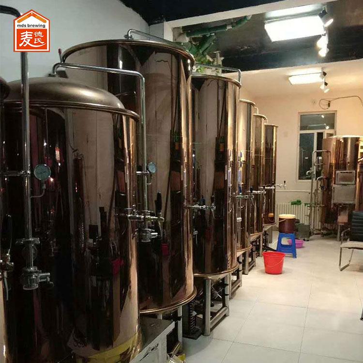 啤酒设备说精酿过程中常见问题