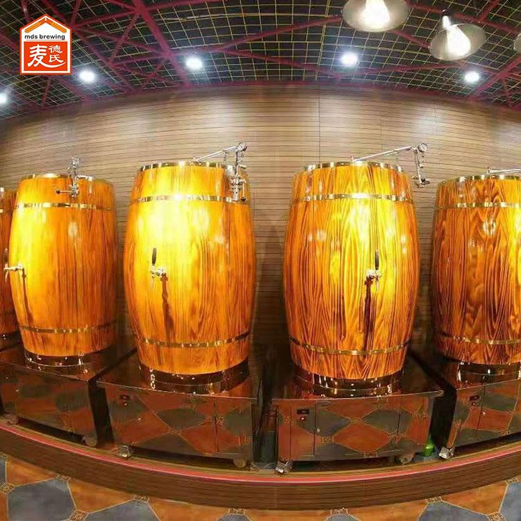 精酿啤酒设备说啤酒酿造方法