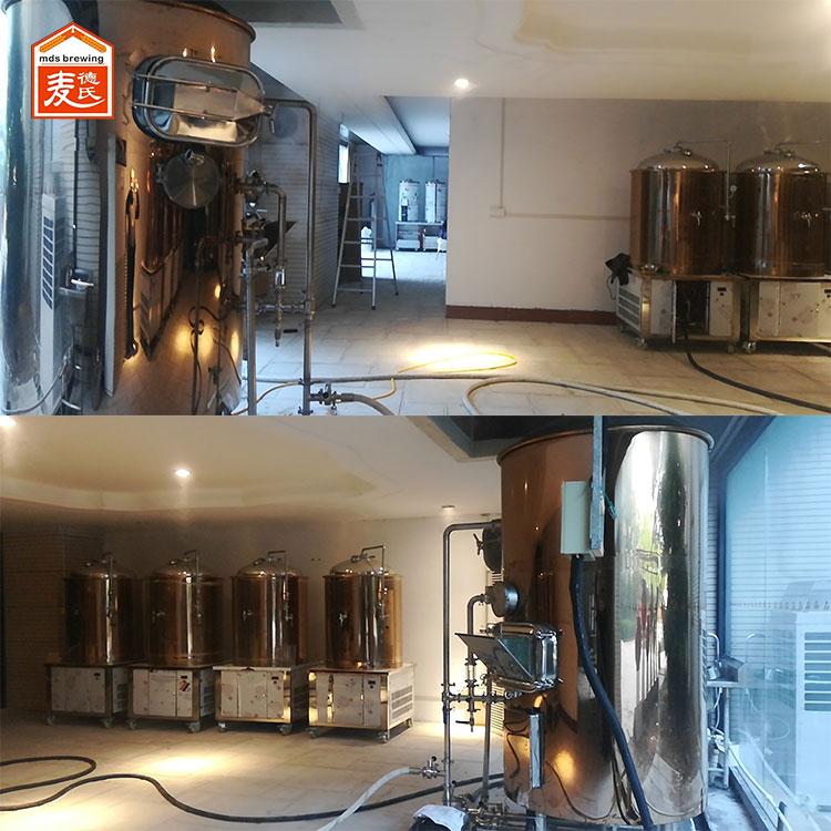 精酿啤酒设备说麦芽的粉碎