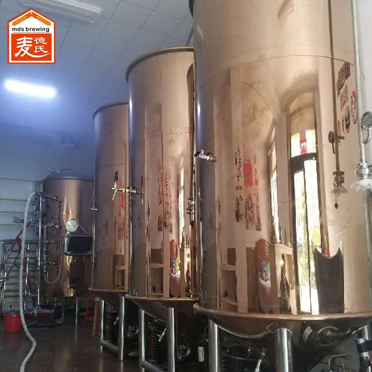 啤酒酿造设备如何调整麦汁浓度和酒精度?