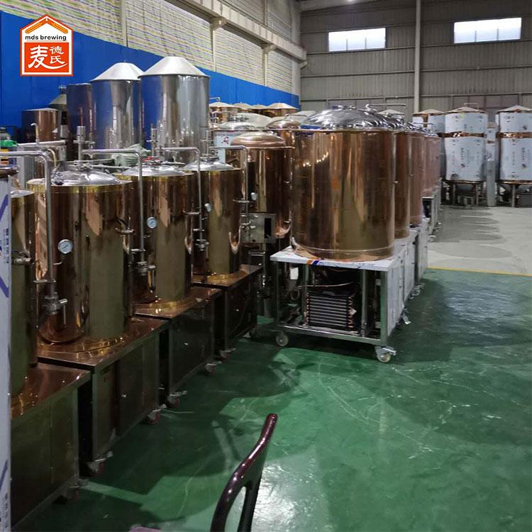 麦德氏小型啤酒设备能够酿造黑啤酒吗?