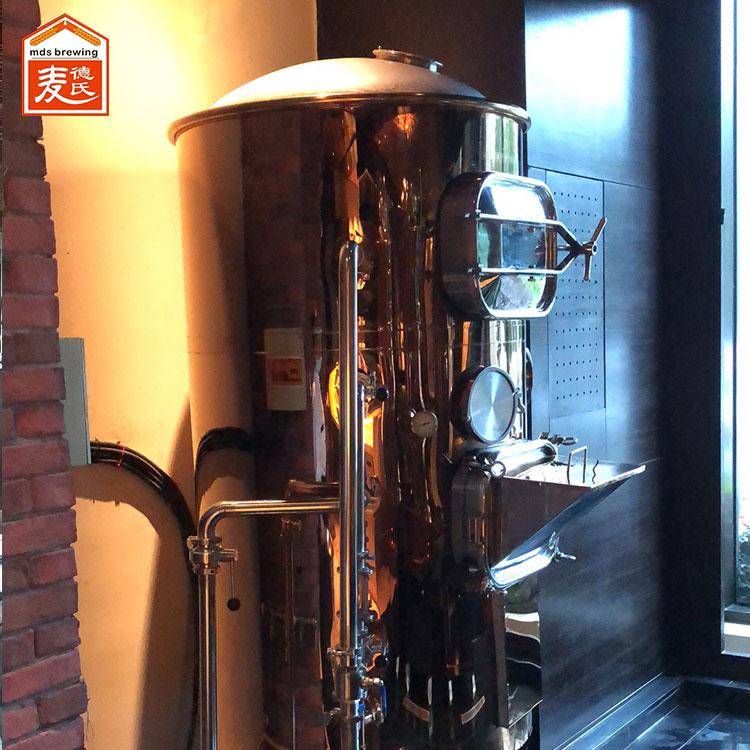 发酵温度对于小型啤酒设备酿造的啤酒风味的影响