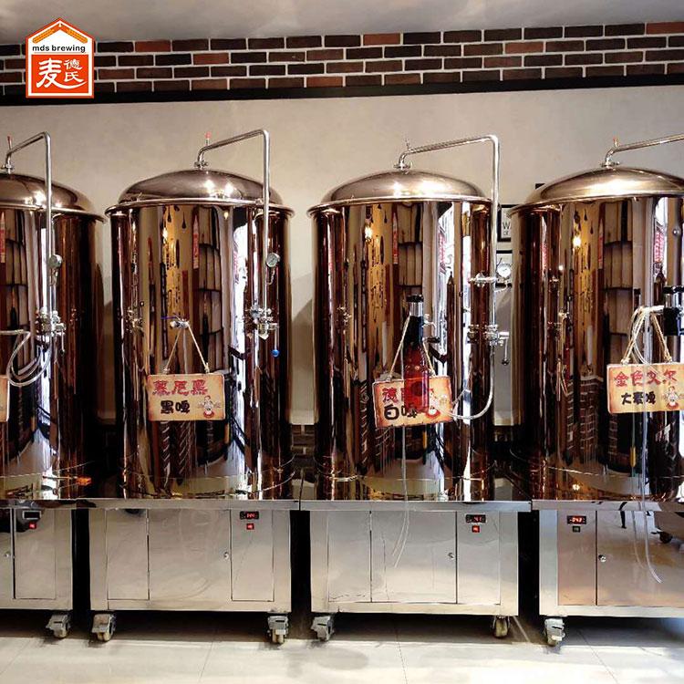 精酿啤酒设备在灌装过程中如何减少氧气摄入?