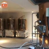 郑州啤酒设备麦汁发生浑浊现象的成因