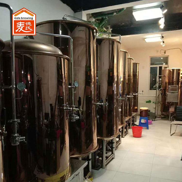 麦德氏自酿啤酒设备如何防止有害菌的侵袭?