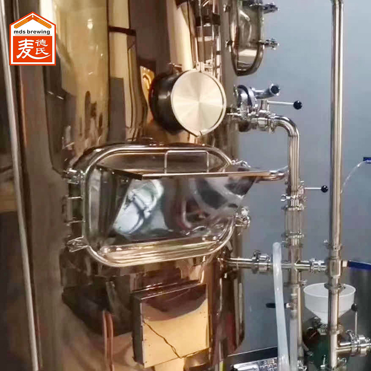 小型啤酒设备麦汁回流的相关常识