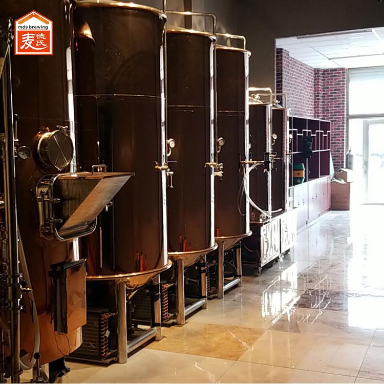 自酿啤酒设备酿制过程中如何避免过度氧化